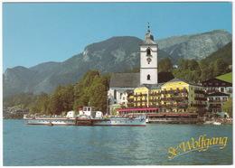 Raddampfer 'Kaiser Franz Josef' - Hotel 'Im Weissen Rössl' - St. Wolfgang - ( Austria) - St. Wolfgang