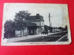 MERIEL La Gare (dans L'état) - Meriel