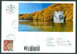 Croatia 2019 Booklet Block Plitvice Herbst Water Waterfall Lake Wood National Park Nature Preserve Letter Japan China - Croazia
