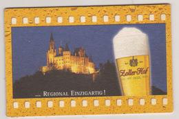 Zoller Hof Brauerei Sigmaringen Regiolal Einzigartig , Burg Hohenzollern , Hechingen - Beer Mats