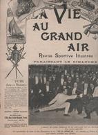 LA VIE AU GRAND AIR 24 03 1901 - ESCRIME - GUERRE DES BOERS - NANTES - PREMIERE COURSE A SAINT CLOUD - CROSS COUNTRY ... - 1900 - 1949