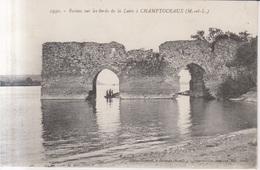 Champtoceaux Ruines Sur Les Bords De La Loire   1917 - Champtoceaux