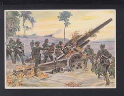 Dt. Reich PK Schwere Feldhaubitz-Batterie 1942 - Guerra 1939-45