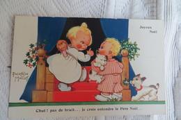 Cpa Enfants Pere Noel Beatrice Mallet - Scene & Paesaggi