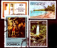 Dominica-021 - Emissione 1980-81 - Senza Difetti Occulti. - Dominica (...-1978)
