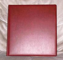 DDR Vordruckblätter Lindner-T 1975 - 1979 Komplett Im Roten Ringbinder Standard  Neupreis über 150,- Euro - Albums & Reliures
