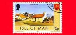 Isola Di MAN - Usato - 1973 - Paesaggi - Veduta Di Cregneish - 6 P - Isola Di Man