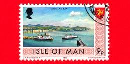 Isola Di MAN - Usato - 1973 - Paesaggi - Veduta Di Douglas Bay - 9 P - Isola Di Man