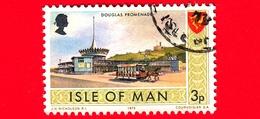 Isola Di MAN - Usato - 1973 - Paesaggi - Veduta Di Douglas Promenade - 3 P - Isola Di Man