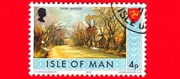 Isola Di MAN - Usato - 1973 - Paesaggi - Veduta Di Fairy Bridge - 4 P - Isola Di Man