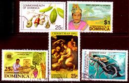 Dominica-022 - Emissione 1981-1983 - Senza Difetti Occulti. - Dominica (...-1978)