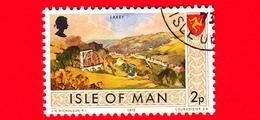 Isola Di MAN - Usato - 1973 - Paesaggi - Veduta Di Laxey - 2 P - Isola Di Man