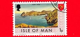 Isola Di MAN - Usato - 1973 - Paesaggi - Veduta Di Port Erin - 1 P - Isola Di Man