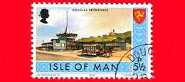 Isola Di MAN - Usato - 1975 - Paesaggi - Veduta Di Douglas Promenade - 5 ½ P - Isola Di Man