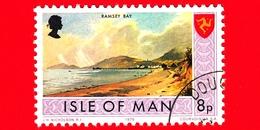 Isola Di MAN - Usato - 1975 - Paesaggi - Veduta Di Tynwald Hill - 8 P - Isola Di Man