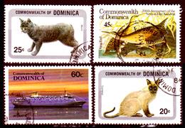Dominica-023 - Emissione 1984-85 - Senza Difetti Occulti. - Dominica (...-1978)