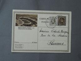 Postal Stationery, Le Stade Des Sporst, Brussels 1935, Stadium - 1935 – Brüssel (Belgien)