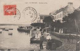 CPA - AK Le Pouldu Arrivée Bac Fähre Ferry A Clohars Carnoet Kernévénas Saint Julien Lorient 29 Finistère Bretagne - Clohars-Carnoët