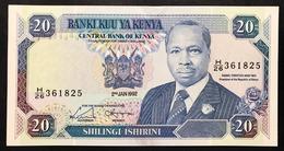 KENYA 20 Shillings  1992-01-02 KM:31 SPL+  LOTTO.2585 - Kenia