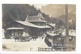 23018 - Station Brünig Mit Bahnrestaurant 1922 Calèches - BE Berne