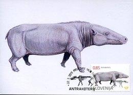 45644 Slovenija,  Maximum 2019, Prehistoric, Prehistory Antracothere, - Prehistory