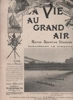 LA VIE AU GRAND AIR 14 04 1901 - AVIRON OXFORD CAMBRIDGE - RUE DE TREVISE - AUTOMOBILE - ESCRIME PREVOTS DE PARIS - 1900 - 1949