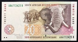 SOUTH AFRICA  SUD AFRICA ELEFANTE  20 RAND 1999 Pick 124   LOTTO.2587 - Zuid-Afrika
