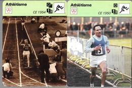 GF1008 - FICHES RENCONTRE - ATHLETISME - CHAMPIONNATS D'EUROPE - Athlétisme