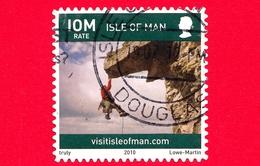 ISOLA DI MAN - Usato - 2010 - Turismo - Vita Sull'isola - Arrampicata - Climbing - Scriita IOM Venduto A 32 P - Isola Di Man