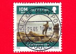 ISOLA DI MAN - Usato - 2010 - Turismo - Vita Sull'isola - Pesca - Fishing - Scriita IOM Venduto A 32 P - Isola Di Man