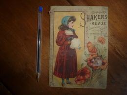 1893 : SHAKERS - Revue : Publication Paraissant à LILLE ( Pilules,Tisanes,etc ) à La Pharmacie FANYAU De LILLE - France