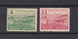 Provinz Sachsen - 1945 - Michel Nr. 85/86 D - 165 Euro - Sowjetische Zone (SBZ)