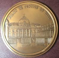 FRANCE - Médaille PALAIS DE JUSTICE PARIS / Numérotée 88/100 - Firma's