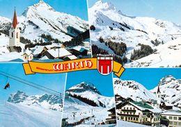 1 AK Österreich Vorarlberg * Ansichten Von Warth Im Winter * - Warth