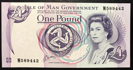 Isle Of Man 1 Pound Signature 6  Fds  LOTTO 2589 - [ 4] Isle Of Man / Channel Island