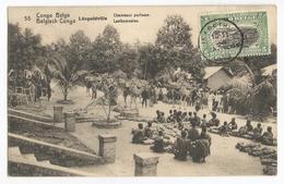 Belgisch Congo Belge Léopoldville Chameaux Porteurs CPA PK EP - Congo Belge - Autres