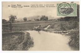 Belgisch Congo Belge Kitobola Irrigation Des Rizières Le Canal Principal CPA PK EP - Congo Belge - Autres