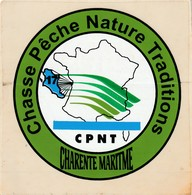Autocollant Chasse-gibier Eau---c P N T Charente Maritime - Stickers