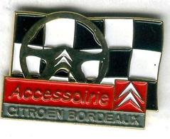 Pin's Voiture Automobile Citroën Bordeaux - Citroën