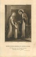 IMAGE PIEUSE CANIVET MARIE NOTRE MODELE ET NOTRE GUIDE  IMP BOUASSE JEUNE 11 X 7.50 CM - Imágenes Religiosas