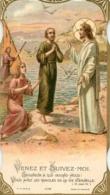 IMAGE PIEUSE CANIVET VENEZ ET SUIVEZ MOI  1935 FORMAT 11 X 6 CM - Imágenes Religiosas