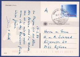 Karte, K-Stempel 3999 Oberwald (br7168) - Cartas