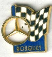 Pin's Voiture Automobile Mercedes Bosquet (signé Corner Coinderoux) - Mercedes
