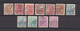 Mecklenburg-Vorpommern - 1946 - Michel Nr. 29, 31, 34/40 - Stempel Falsch - BPP Gepr. - Sowjetische Zone (SBZ)