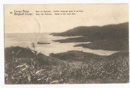 Belgisch Congo Belge Baie De Mobimbi Cratère Immergé Dans Le Lac Kivu CPA PK EP - Congo Belge - Autres