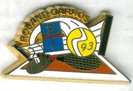 Pin's Tennis Roland Garros 1993 GDF Gaz De France - Tennis