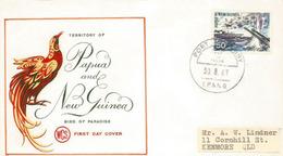 PAPOUASIE.Bataille De La Mer De Corail 1942,en Papouasie, Entre Japon Et Etats-Unis, Sur Lettre Adressée Australie - Papouasie-Nouvelle-Guinée