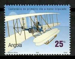 Angola 2003 / Aviation Airplanes MNH Aviacion Aviones Luftfahrt / Cu13603  18 - Aviones