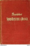 GUIDE ROUGE-BAEDEKER-FRONTIERE BELGE à LA LOIRE-(détails Annexés)-1902 - Landkarten