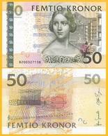 Sweden 50 Kronor P-64b 2008 UNC Banknote - Schweden